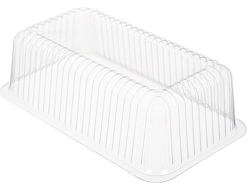 Крышка для торта на 0,3 кг 242х133 мм h 64 мм, БОПС (дно 240077, 240077К)