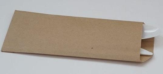 Конверт для приборов бумажный 300х100 мм, крафт