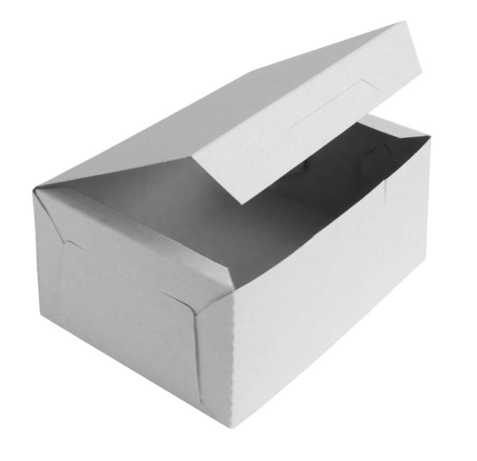 Коробка для десертов 1700 мл 200х140х80 мм белая