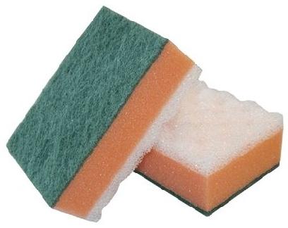 Губка для кафеля и сантехники 14,5х9,6х6 см